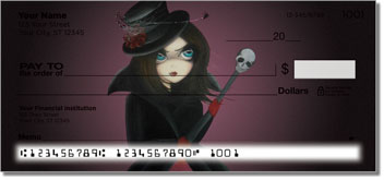 Gothic Personal Checks