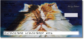 Shahmiri Cats Personal Checks