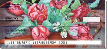 Shahmiri Flowers Personal Checks
