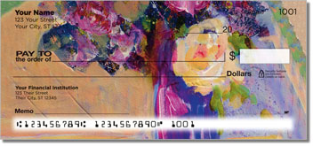 Standlee Floral Personal Checks