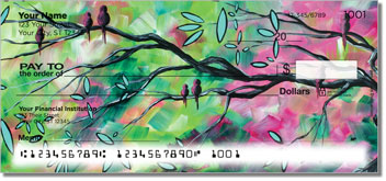 Birds of Whimsy Personal Checks