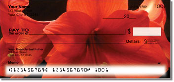 Grissom Floral Personal Checks