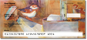 Kay Smith Bird Personal Checks