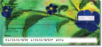 Floral Art Personal Checks