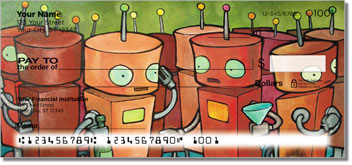 Robot Party Personal Checks