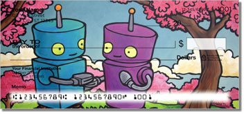 Robots in Love personal checks