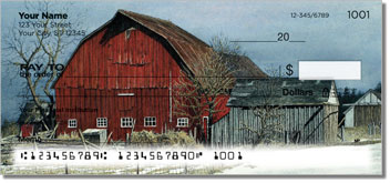 Winter Farm Personal Checks