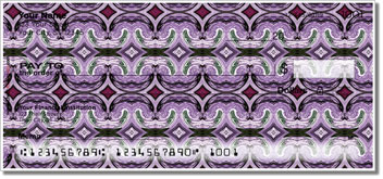Purple Pattern Checks