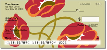 Poppy Dance Personal Checks