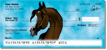 Arabian Horse Personal Checks