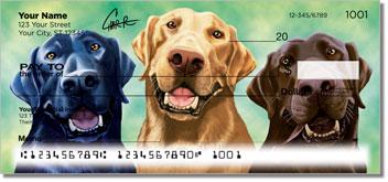 Labrador Retriever Personal Checks