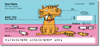 Scrivan Cats Personal Checks
