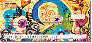 Peacock Art Personal Checks