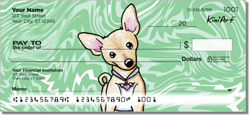 Chihuahua Series 1 Personal Checks