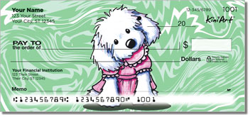 Cartoon Maltese Series 1 Checks
