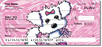 Cartoon Maltese Series 2 Personal Checks