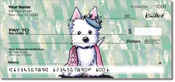 Westie Princess Checks
