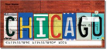 Illinois License Plate Personal Checks