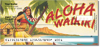 Hawaiian Art Personal Checks