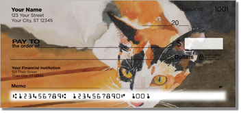 Calico Cat Personal Checks