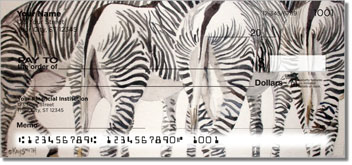 Kay Smith Zebra Personal Checks