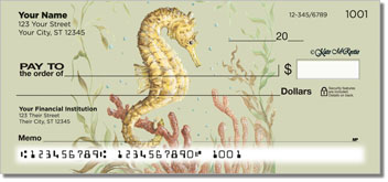 McRostie Seahorse Personal Checks