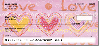 Love Love Personal Checks