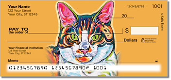 Evans Cat Personal Checks