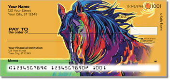 Evans Horse Personal Checks