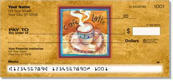 Artsy Coffee Personal Checks