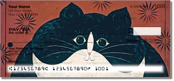 Kimble Cat Personal Checks