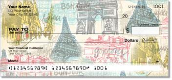 Paris Vacation Personal Checks
