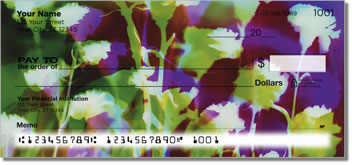 Bacca Floral Personal Checks