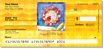 B Flower Dreams Come True Checks