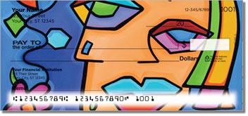 Cubist Gal Pal Personal Checks