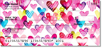 I Heart You Personal Checks