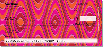 KAB Designs Stripes Personal Checks