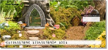 Woodland Fairy Personal Checks