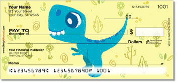 Holeman Dino Personal Checks
