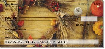 Autumn Wreath Checks