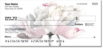 White Flower Personal Checks