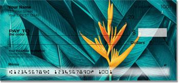 Tropical Plant Personal Checks
