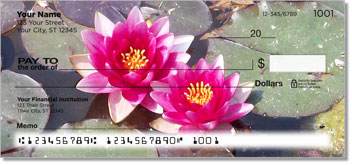 Water Lily Personal Checks