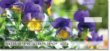 Vivid Violet Checks