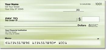 Green Swish Personal Checks