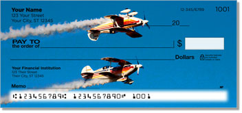 Aerobatic Air Show Checks