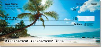 Tropical Coastline Personal Checks