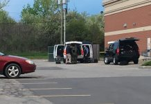The Erie County Sheriff's Bomb Squad responded to the Target store on Walden Avenue May 13, 2017. (Jim Herr/Cheektowaga Chronicle)