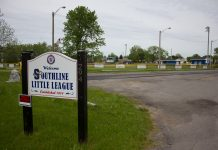 A public hearing to grant a special use permit to erect a 135 foot tall cellular communications tower at Southline Little League will be held. (Jim Herr/Cheektowaga Chronicle)