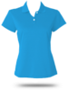 A122 adidas Golf Ladies' ClimaLite Short-Sleeve Pique Polo